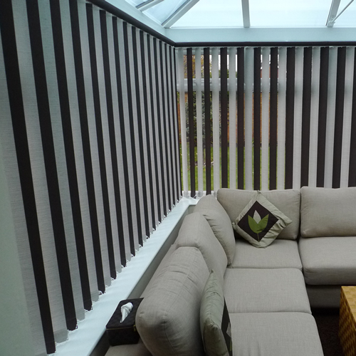 Budget Conservatory Blinds