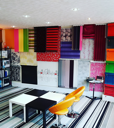 Budget Blinds Blackpool Showroom